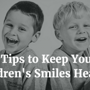 8 Tips for Childrens Dental Health Month 2016